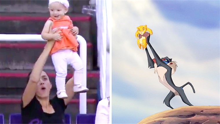 A Phoenix Suns unveiled their 'Lion King Cam' in today's game