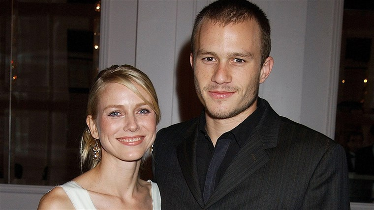 הית Ledger and Naomi Watts at the Hollywood Film Festival's Hollywood Movie Awards