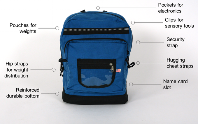 Nesel Pack is designed for children with autism