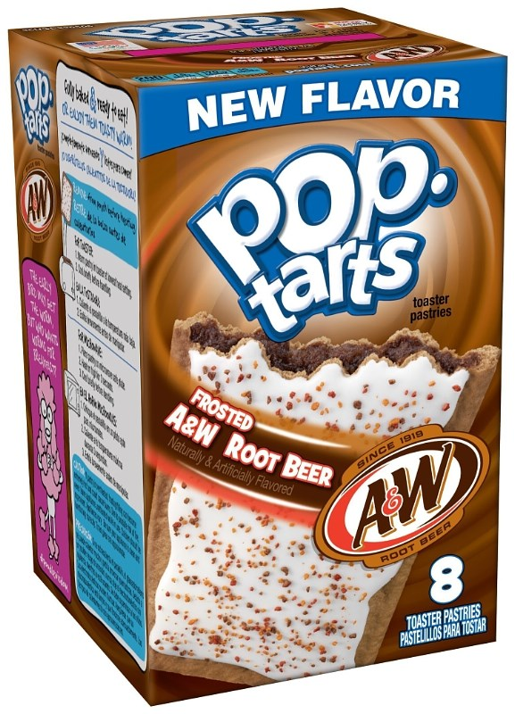Deres A W Root Beer Pop-Tarts
