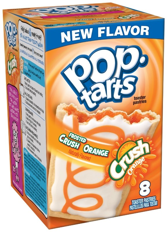 Deres Crush Orange Pop-Tarts