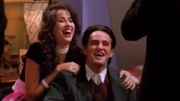 जेनिस and Chandler - Maggie Wheeler and Matthew Perry on
