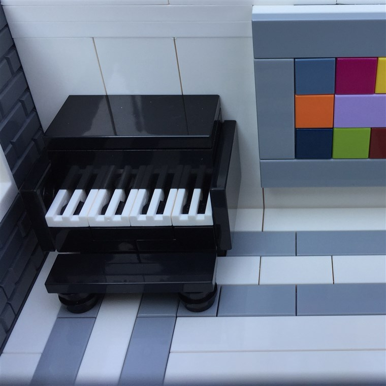 osztrák has all the details covered in her Lego replica homes.