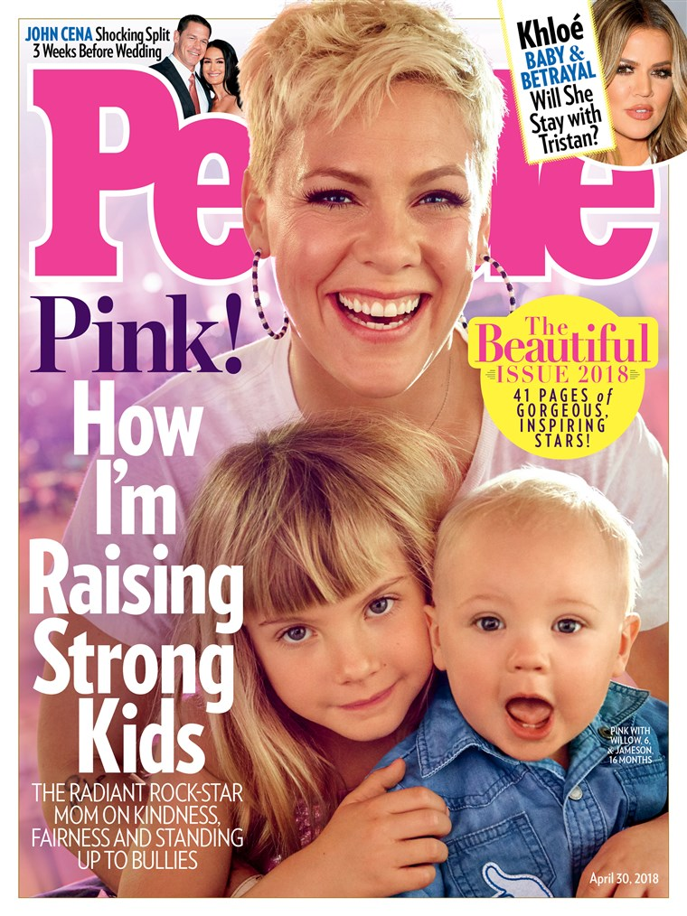 Ružičasta is on the cover of People's Beautiful Issue, along with her adorable children.