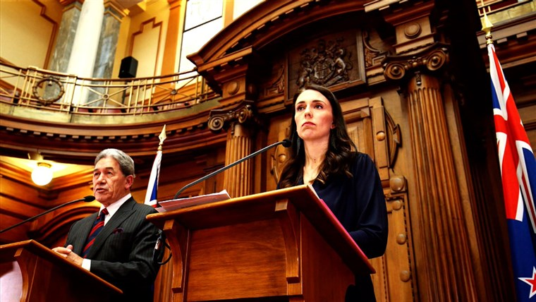 חדש Zealand prime minister, Jacinda Ardern on TODAY