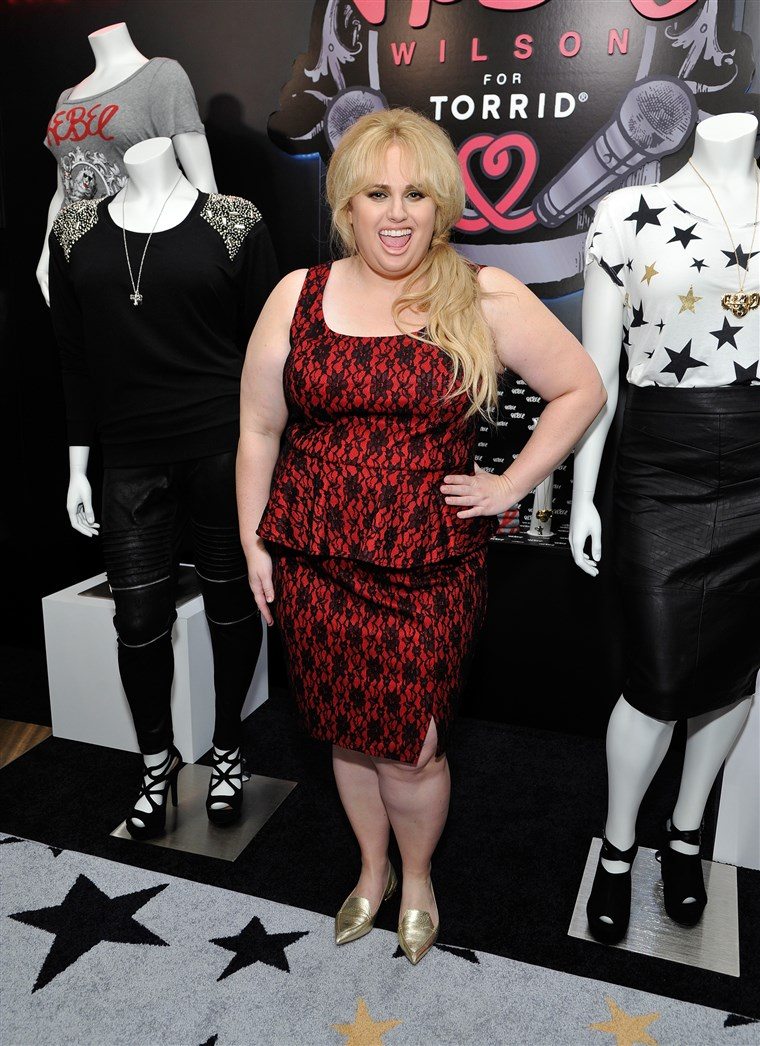 Színésznő Rebel Wilson attends Tracy Paul & Company presents REBEL WILSON FOR TORRID Launch at Milk Studios on October 22, 2015 in Los Angeles, California.