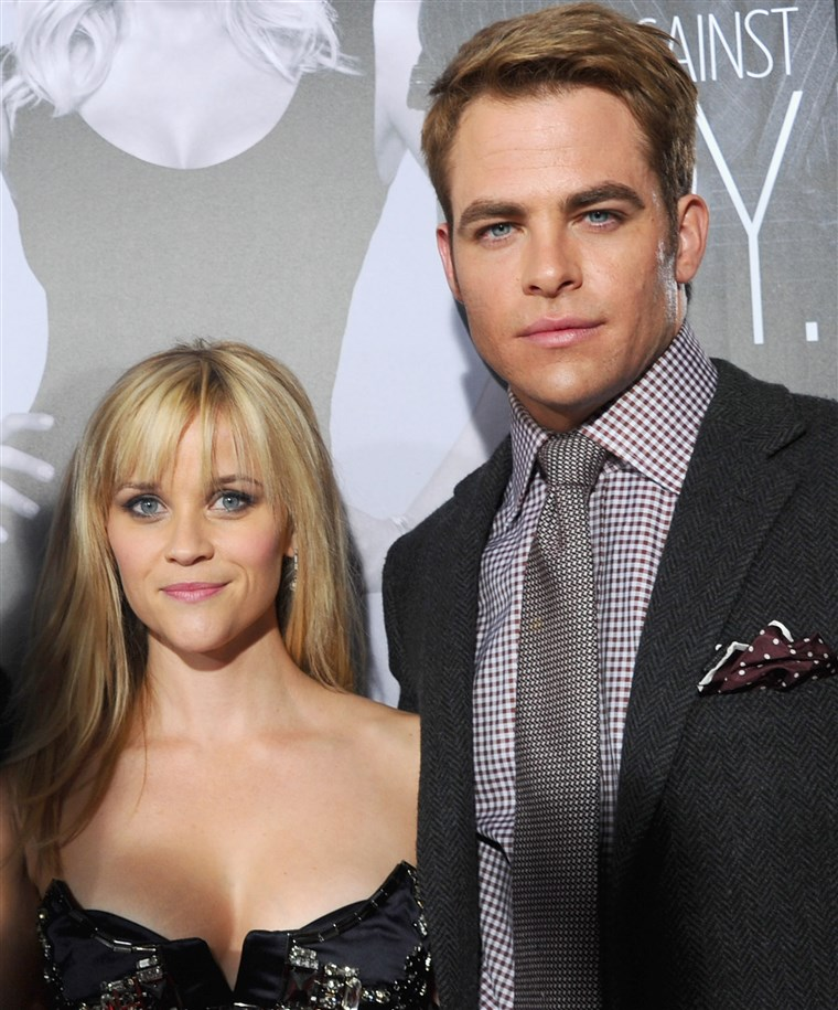 रीज़ Witherspoon and Chris Pine