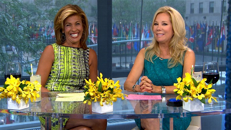 Kathie Lee and Hoda