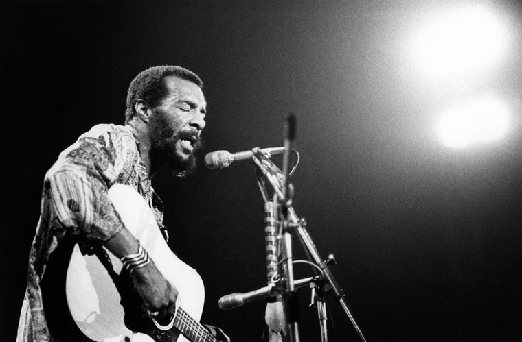 Richie Havens in concert in 1973.