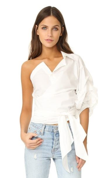 Egy Shoulder Top