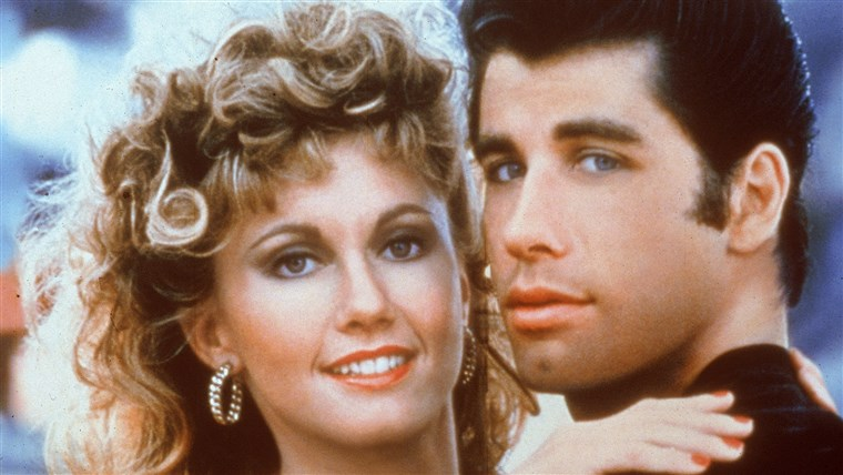 Ivan Travolta and Olivia Newton-John
