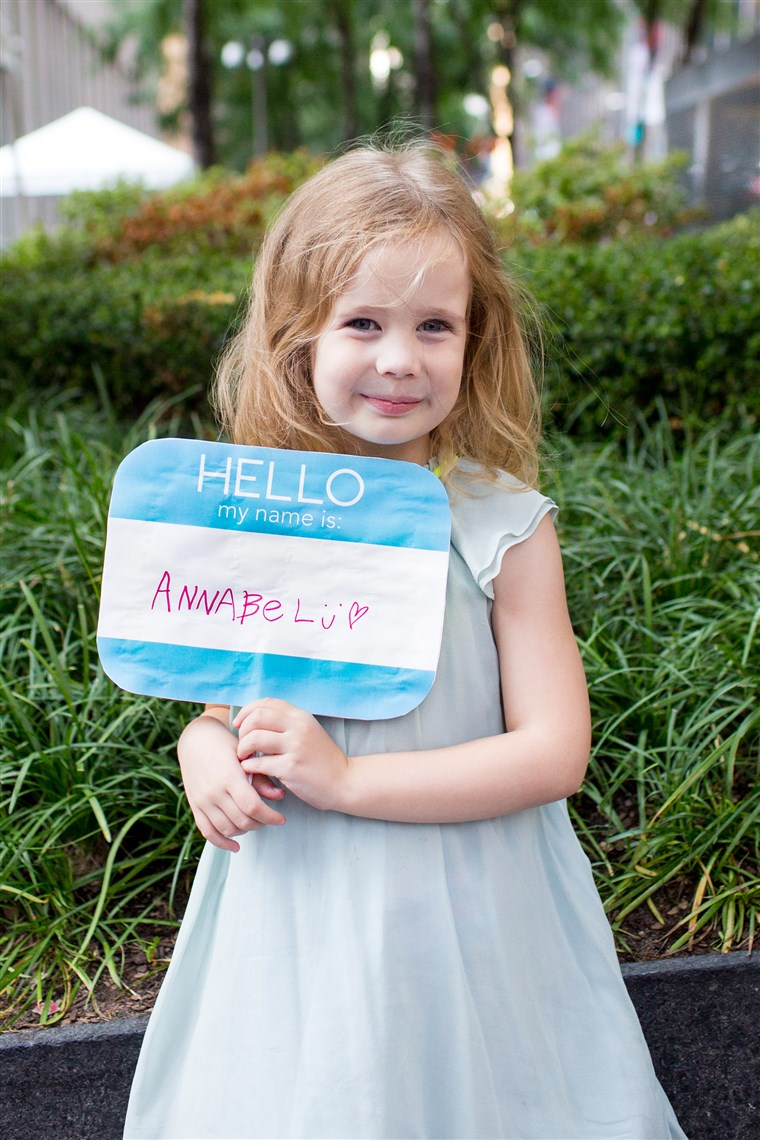 DIY back to school signs - Hello My Name Is