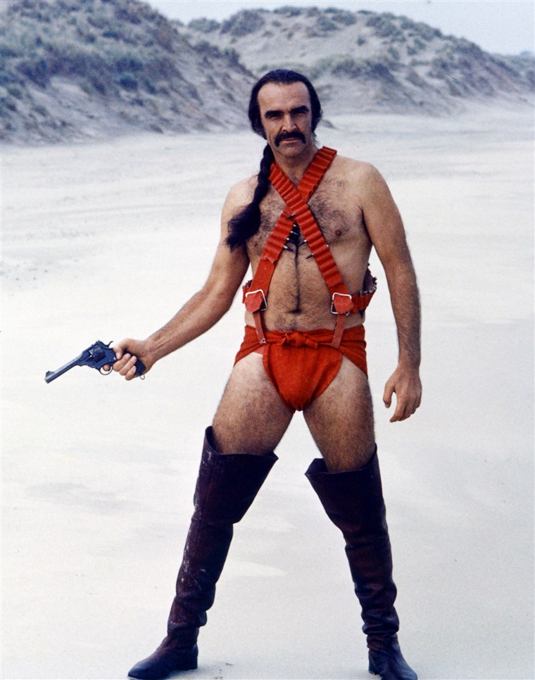 शॉन Connery as Zed in Zardoz