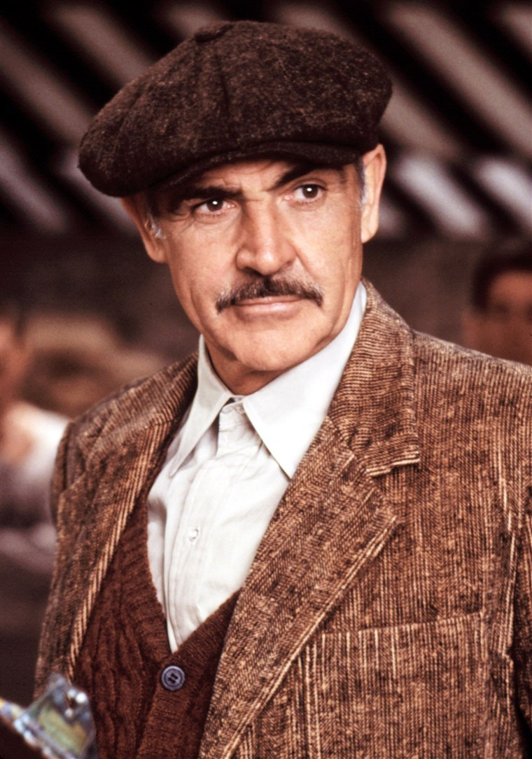 UNTOUCHABLES, Sean Connery, 1987. (c) Paramount Pictures/ Courtesy: Everett Collection.