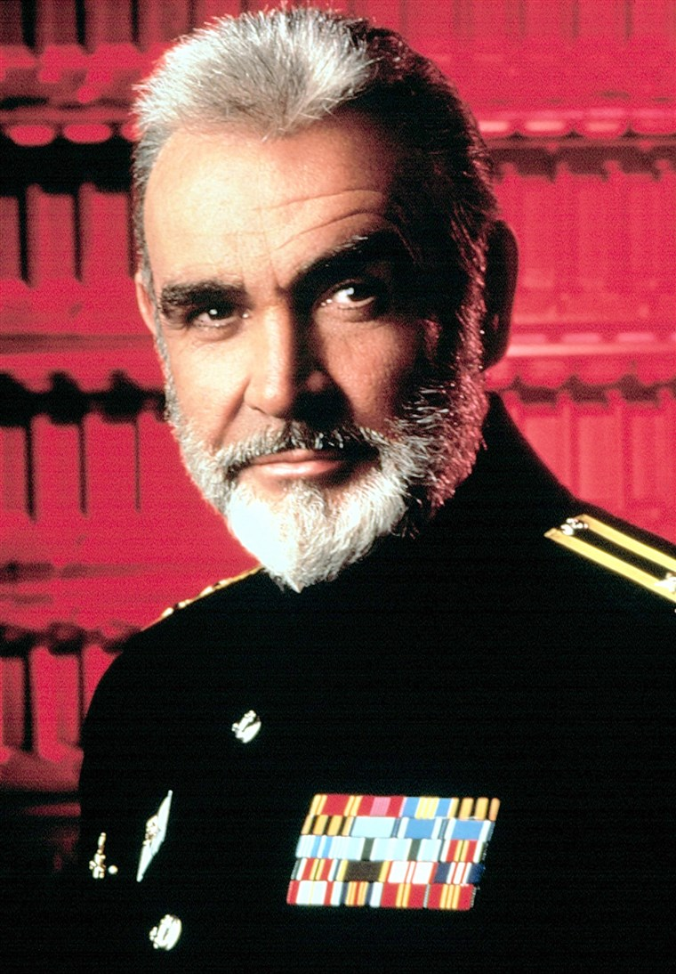 HUNT FOR RED OCTOBER, Sean Connery, 1990