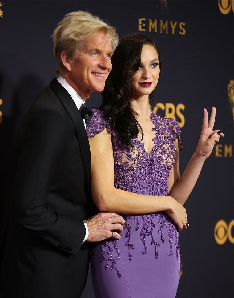 מתיו Modine and his daughter, Ruby Modine.