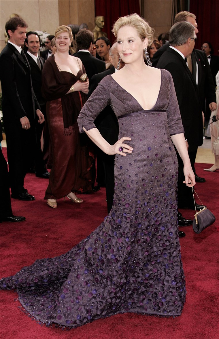 Meryl Streep Oscars Dress 2006