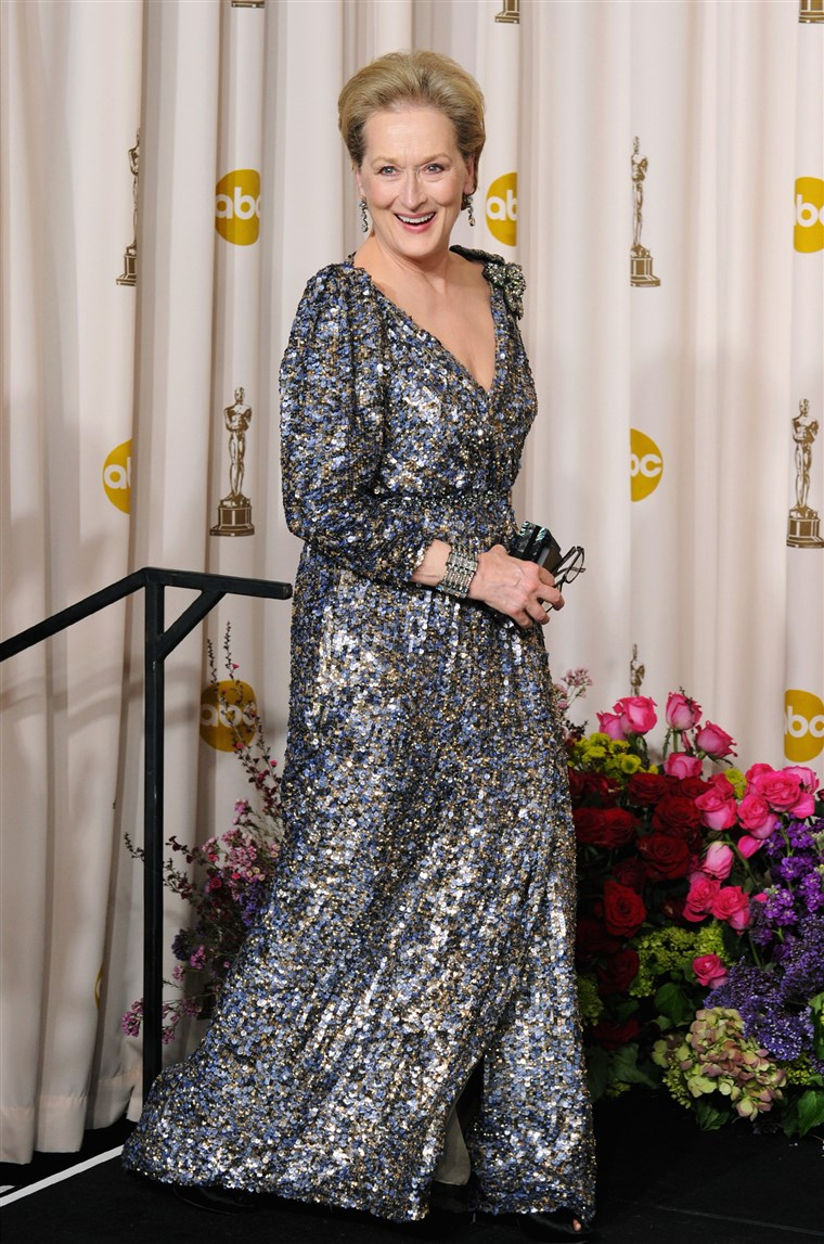 Meryl Streep Oscars Dress 2013