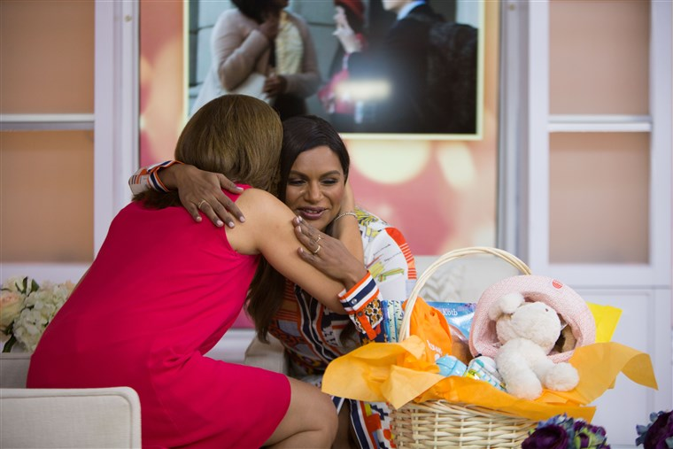 Hoda Kotb and Mindy Kaling
