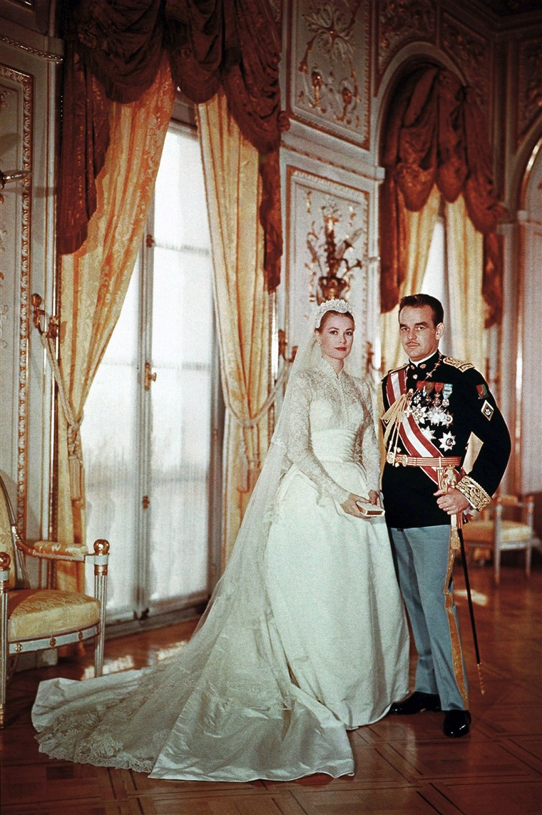 शादी Of Rainier III, Prince of Monaco And Princess Grace