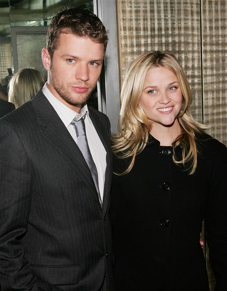 ראיין Phillippe and wife Reese Witherspoon