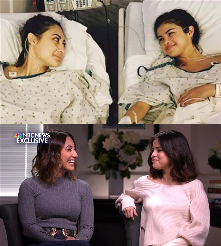 Francia Raísa and Selena Gomez are still feeling grateful for each other, months after the kidney transplant.