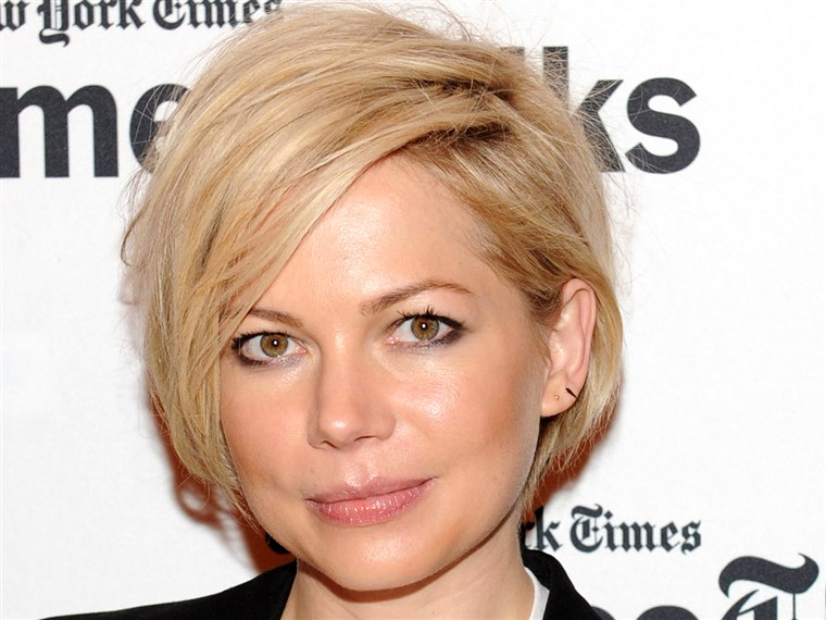 प्यारा short hairstyles: Michelle Williams