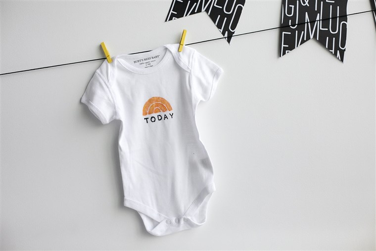 ए TODAY onesie... part of any newborn's essential wardrobe!