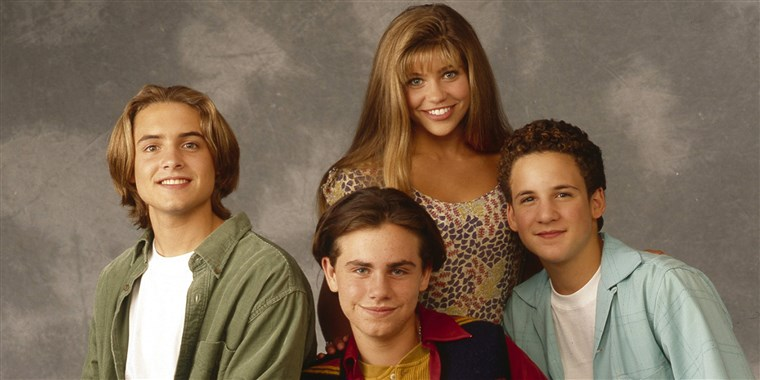 Ben Savage, Danielle Fishel, Rider Strong and Will Friedle