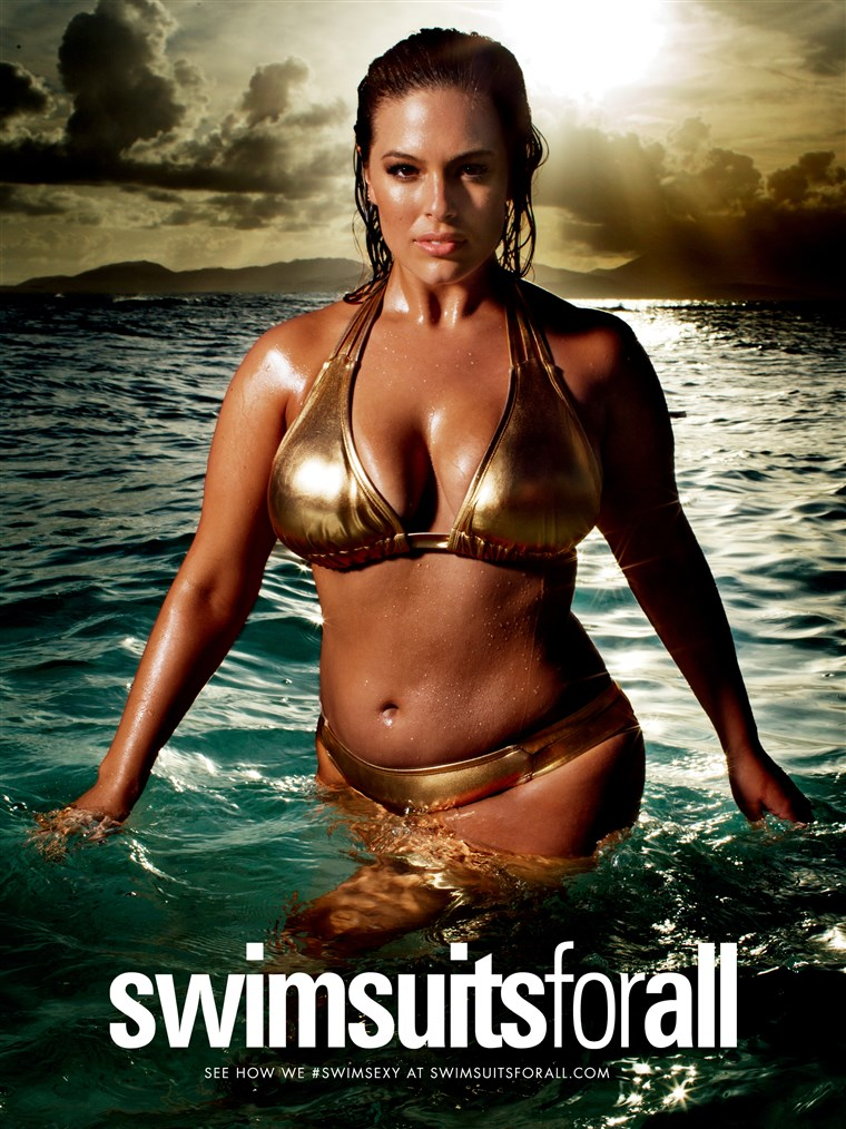Ashley Graham appears in the Swimsuit Edition of Sports Illustrated