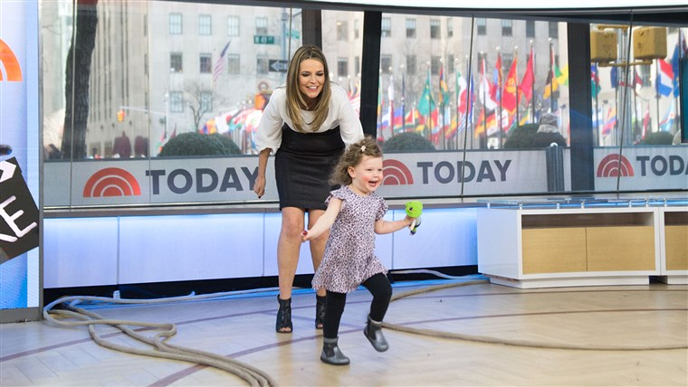 Savannah Guthrie and Vale