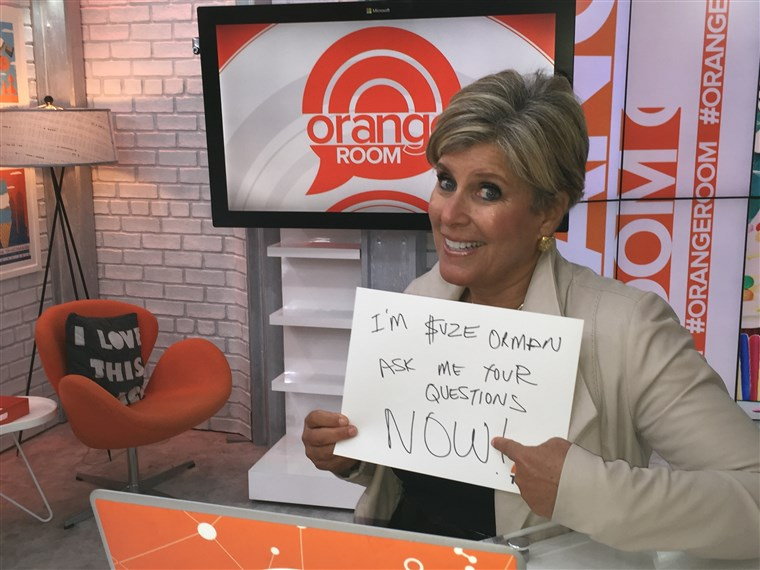 Suze Orman's Facebook chat