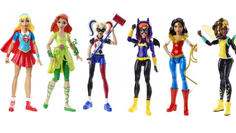 लक्ष्य is launching a collection of action figures inspired by female superheroes and villains.