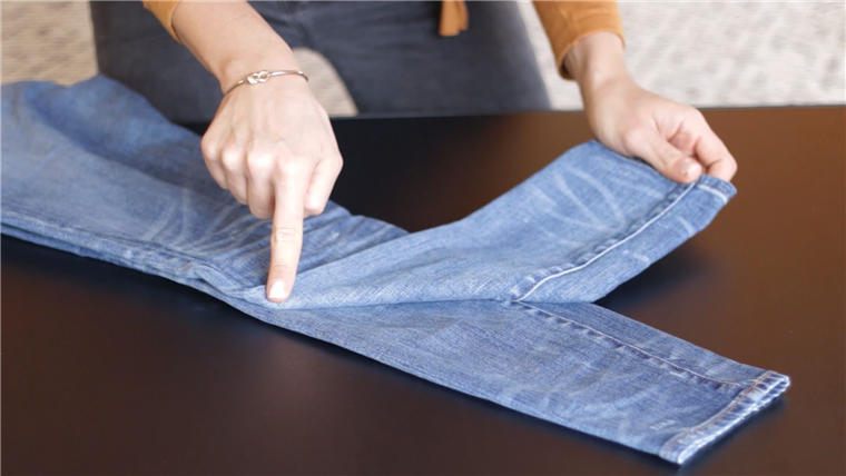 Hogyan to pack jeans