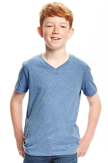 הכי רכה V-Neck Tee for Boys