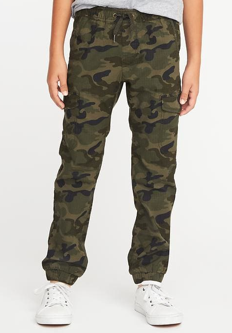 מובנה Flex Ripstop Cargo Joggers for Boys