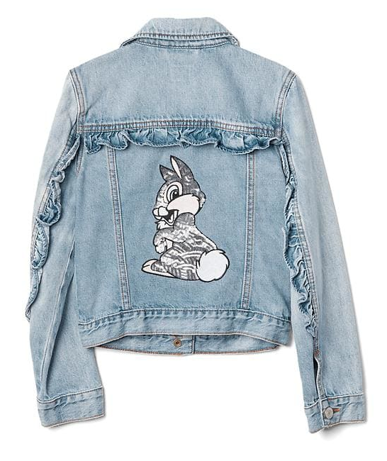 GapKids | Disney sequin denim jacket