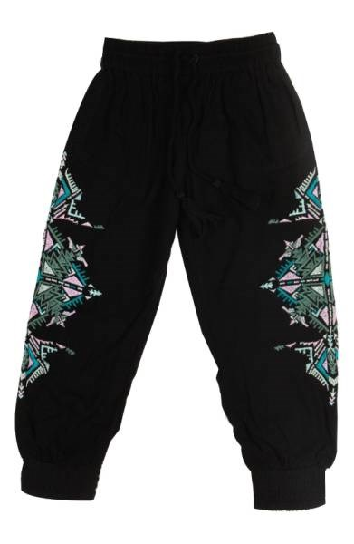 Bowie X JAMES Running Deer Embroidered Pants