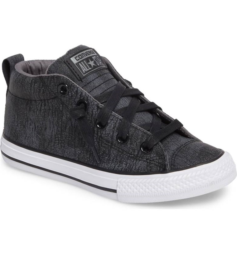 Chuck Taylor(R) All Star(R) Street Mid Top Sneaker CONVERSE