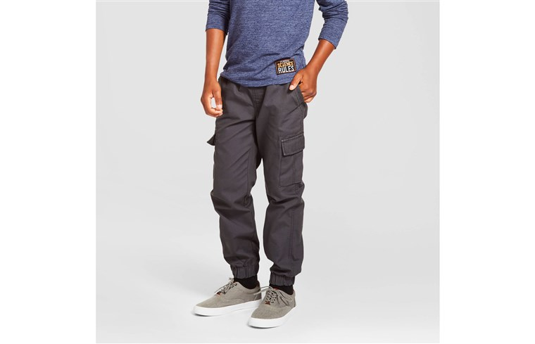 בנים' Cargo Jogger Pants - Cat & Jack(TM) Charcoal