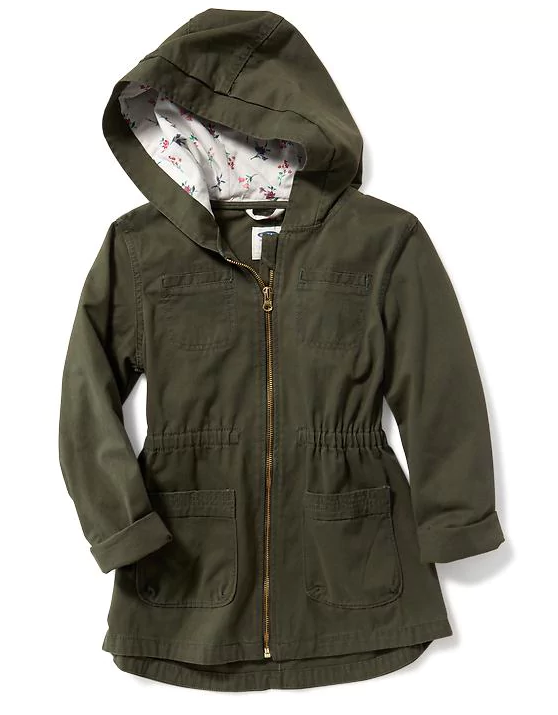 מצויד Utility Jacket for Girls
