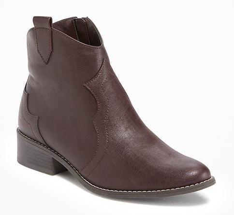 Sarkú Western Ankle Boots for Girls