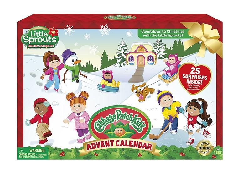 Fejes káposzta Patch Kids Advent Calendar