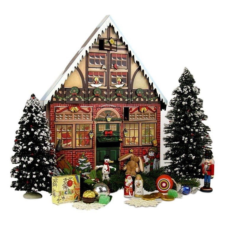 Byers' Choice Christmas House Advent Calendar