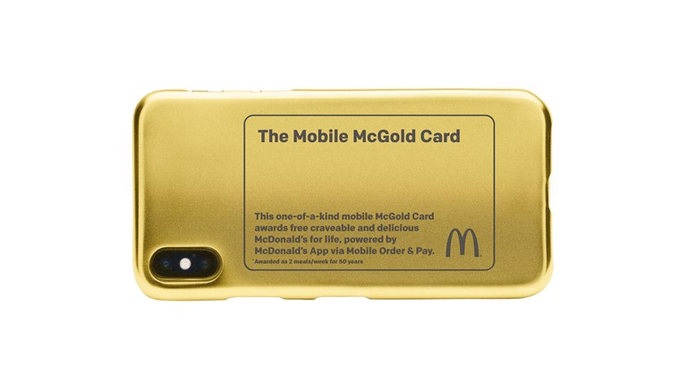 McGold Card won't be in your wallet, but on your phone.