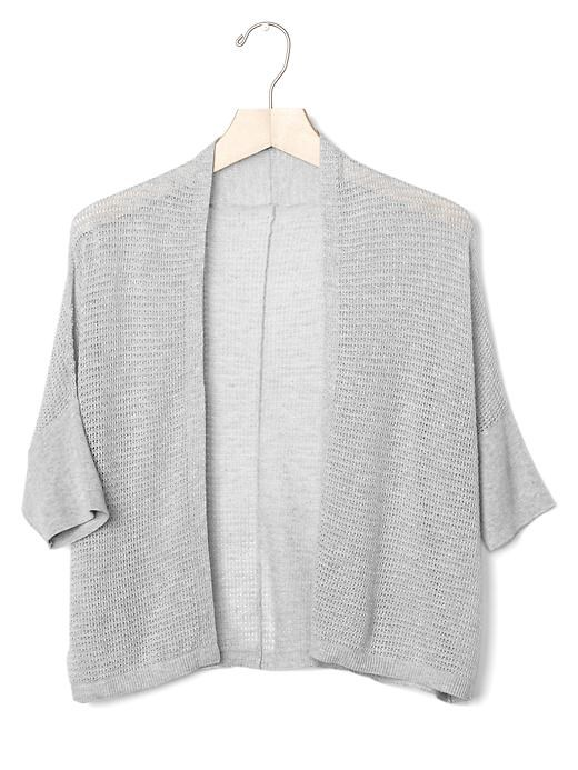 GAP short batwing cardigan