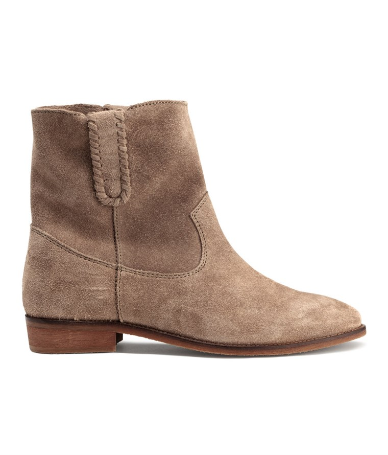 H & M suede boots