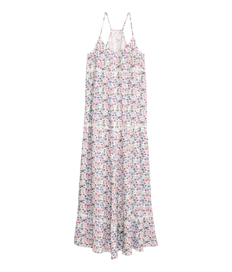 uzorkom maxi dress