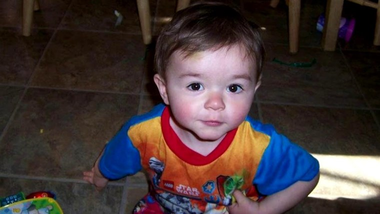 Rees Specht was only 22 months old when he accidentally drowned in a pond in his parents' lawn.