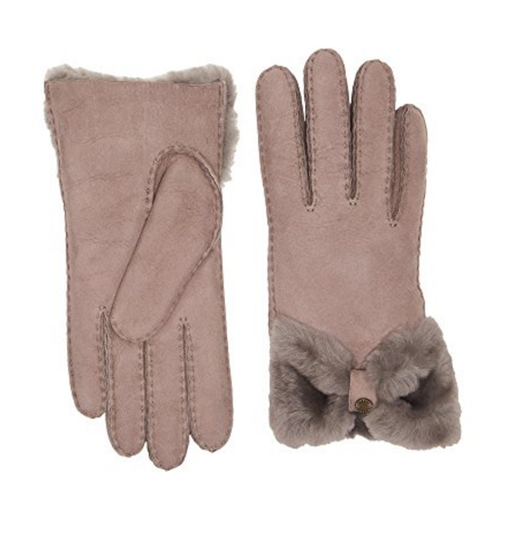 UGG gloves are warm for cold winters